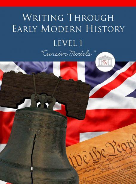 Writing Through Early Modern History Level 1 Cursive Models