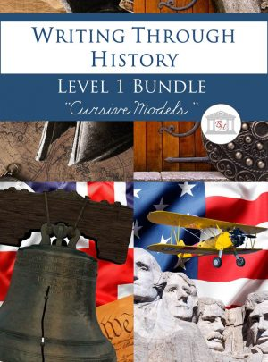 Writing Through History Level 1 Cursive Bundle