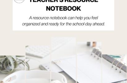 Teacher Resource Notebook
